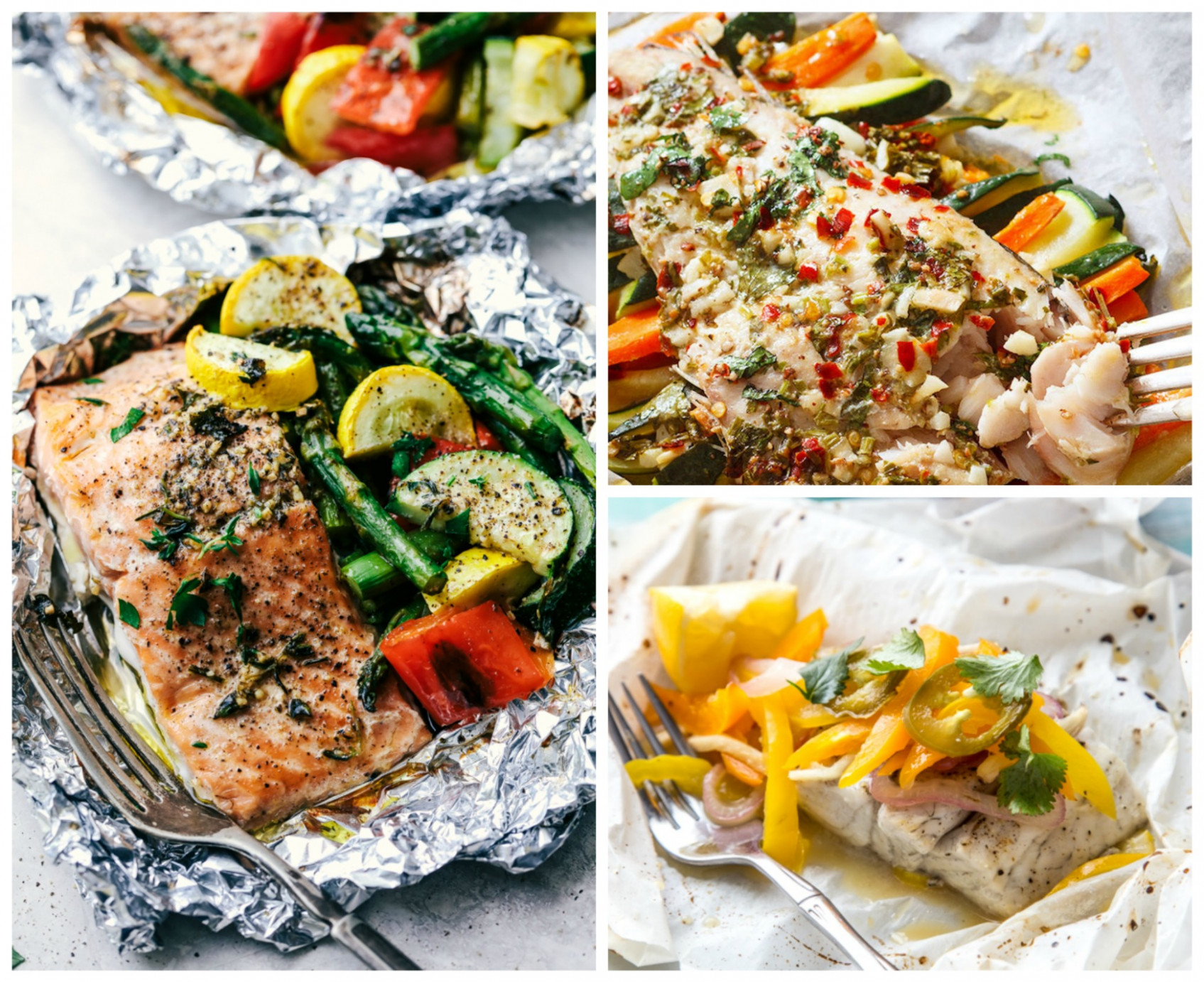 13 Easy Fish Foil Packet Dinners for Healthy Weight Loss - food recipes healthy weight loss