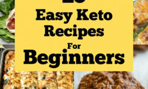 13 Easy Keto Recipes For Beginners – Fluffy's Kitchen – Food Recipes For Beginners