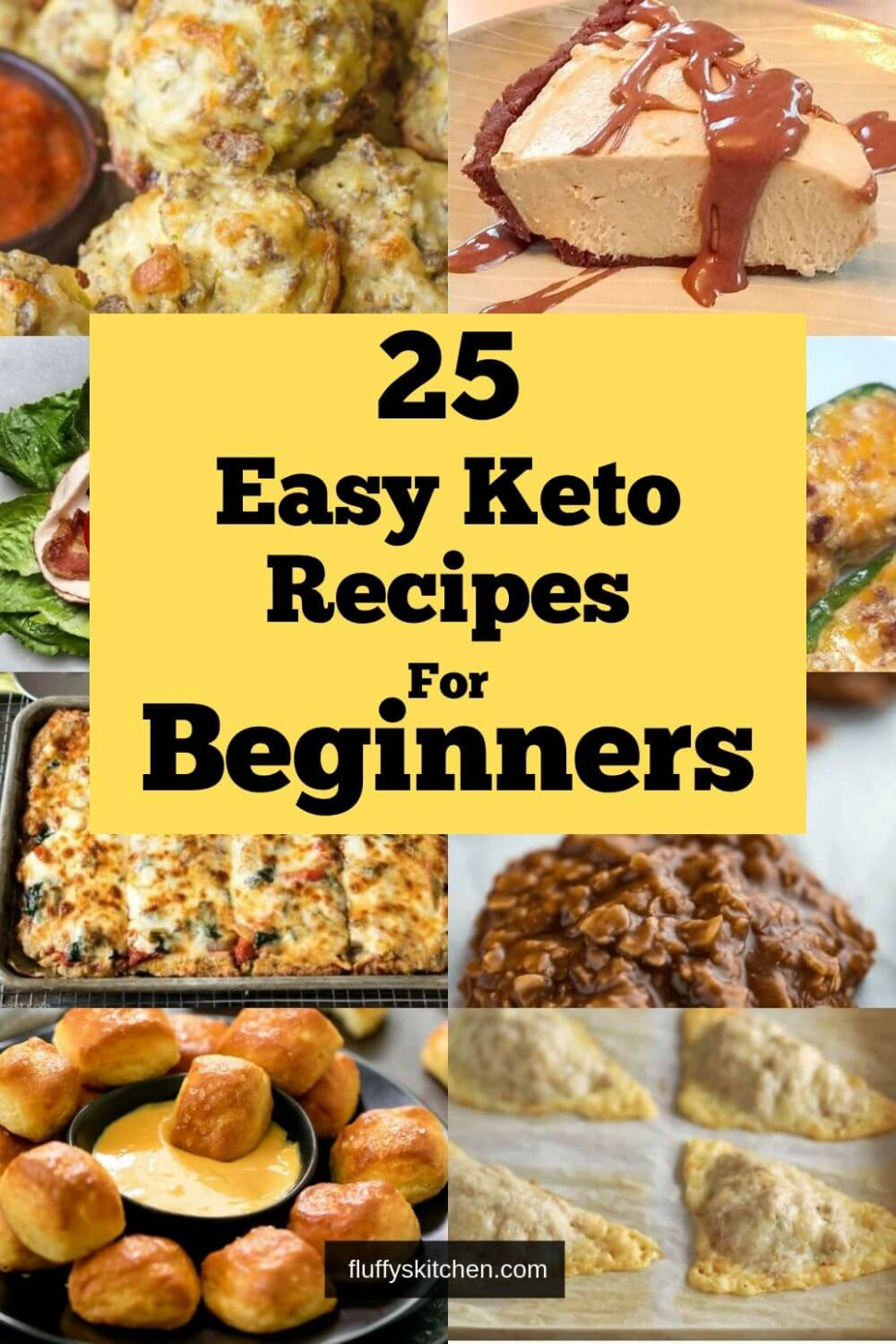 13 Easy Keto Recipes For Beginners - Fluffy's Kitchen - Food Recipes For Beginners