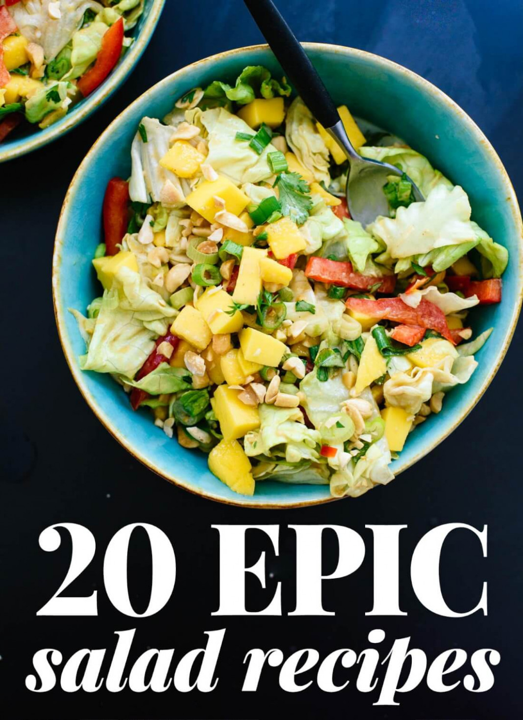 13 Epic Salad Recipes - Cookie and Kate - salad recipes vegetarian healthy