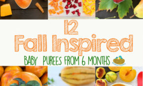 13 Fall Inspired Baby Food Recipes | Buona Pappa – Baby Food Recipes 6 Months