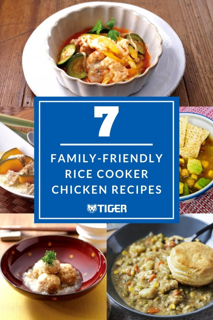 13 Family-Friendly Rice Cooker Chicken Recipes - TIGER ..