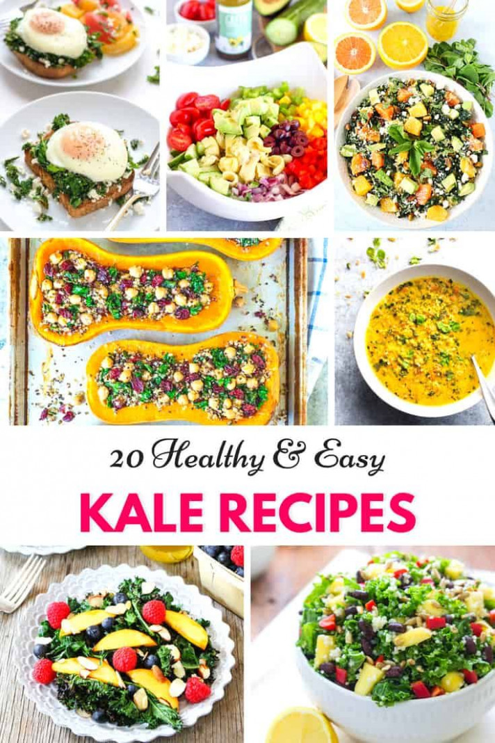 13 Healthy And Easy Kale Recipes | Healthy Snacks For Weight ..