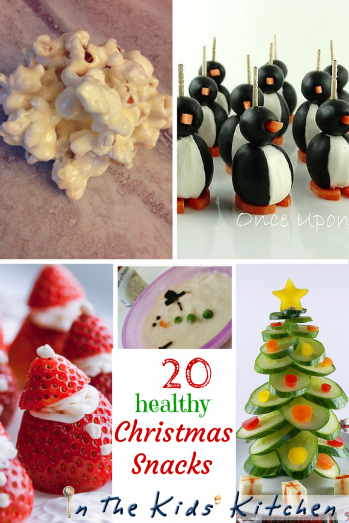 13 Healthy Christmas Kids Snacks | Christmas snacks ..