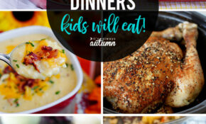 13 Healthy Easy Recipes Your Kids Will Actually Want To Eat ..