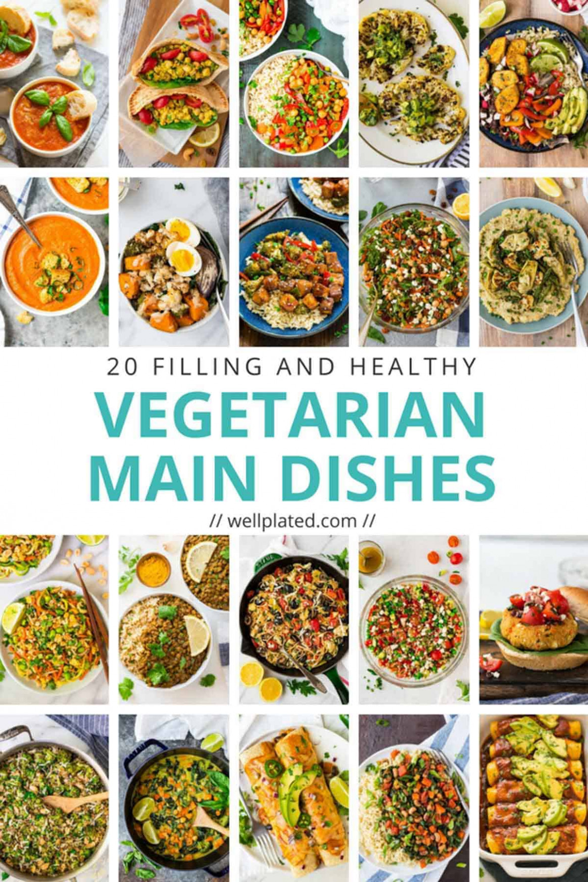 13 Healthy Vegetarian Dinner Recipes - Recipes Vegetarian Dinner