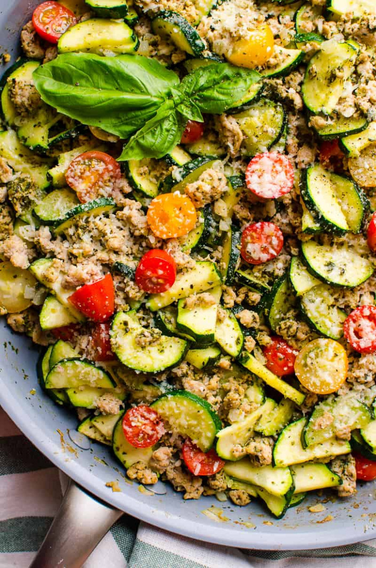 13 Healthy Zucchini Recipes - IFOODreal - Healthy Family Recipes - Dinner Recipes With Zucchini And Squash