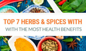 13 Herbs & Spices With The Most Powerful Health Benefits – Recipes Natural Food