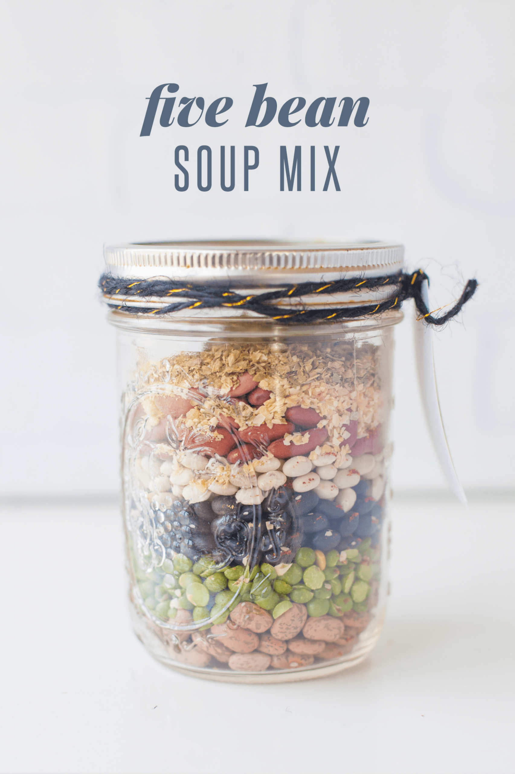 13 Homemade Soup Mixes in a Jar | Wholefully - vegetarian soup in a jar recipes