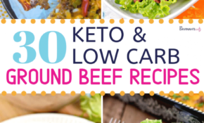 13 Keto Ground Beef Recipes | Dr