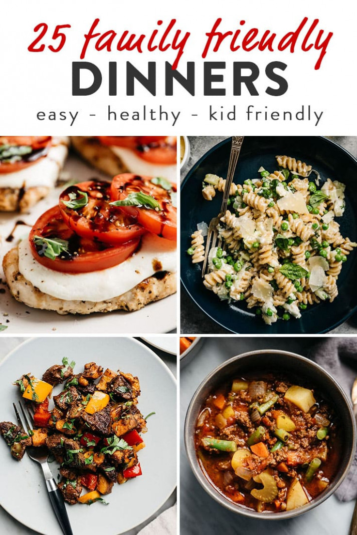 13 Kid Approved Family Dinner Recipes | Our Salty Kitchen - quick and easy healthy dinner recipes