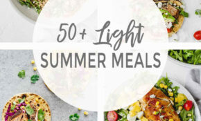 13+ Light Summer Meals – Jar Of Lemons – Lemon Recipes Dinner