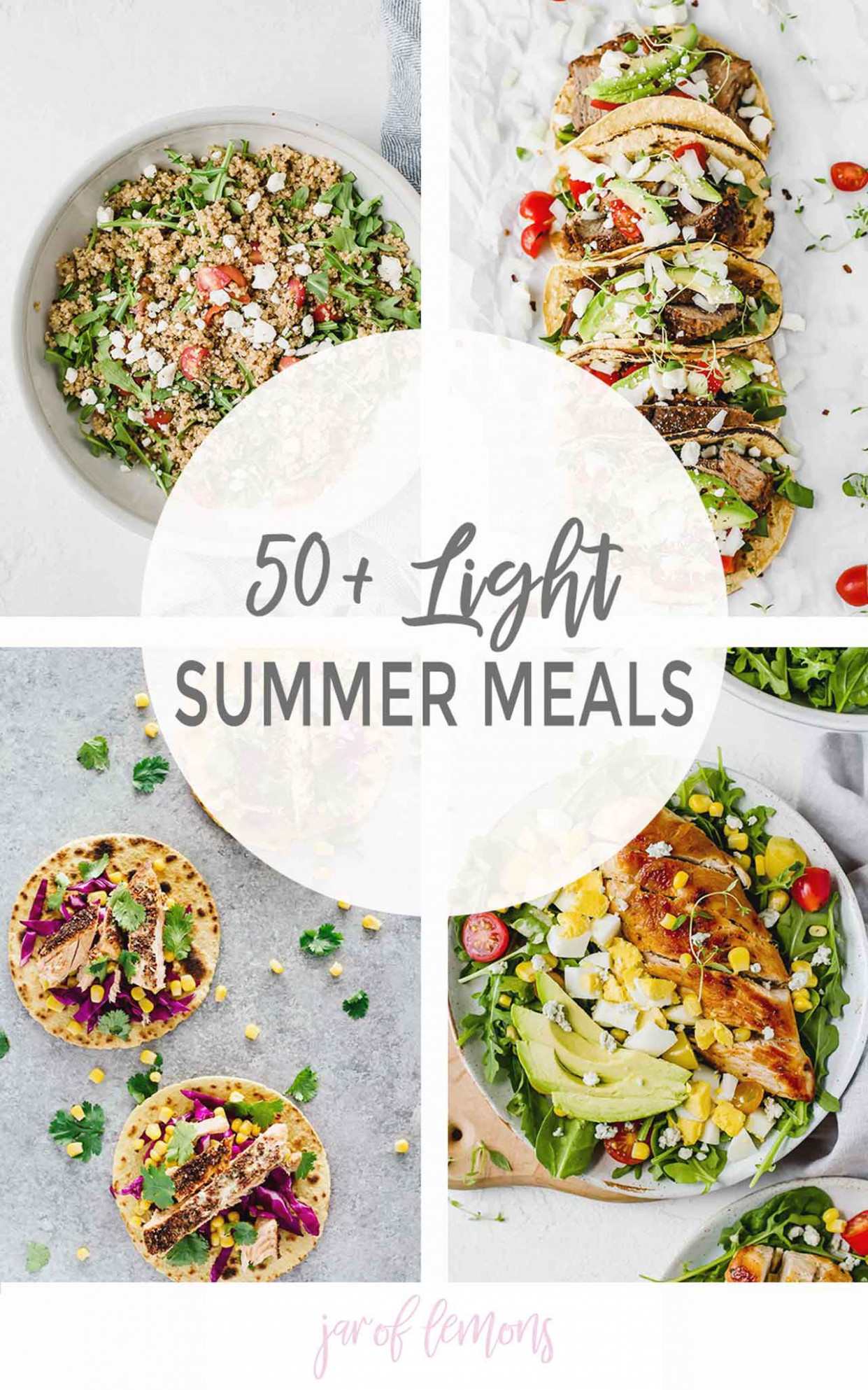 13+ Light Summer Meals - Jar Of Lemons - lemon recipes dinner