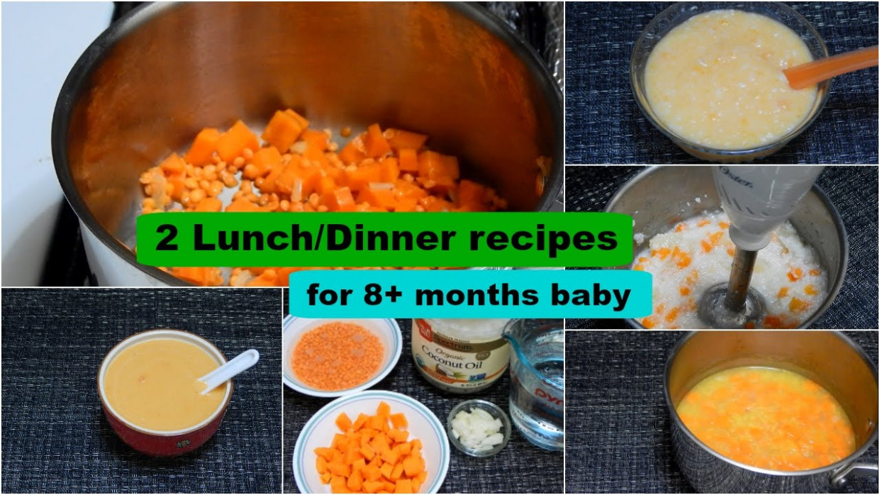 13 Lunch/Dinner Recipes for 13+ months Baby l Healthy Baby Food Recipe l  Stage 13 Homemade Baby Food - baby food recipes 6 months