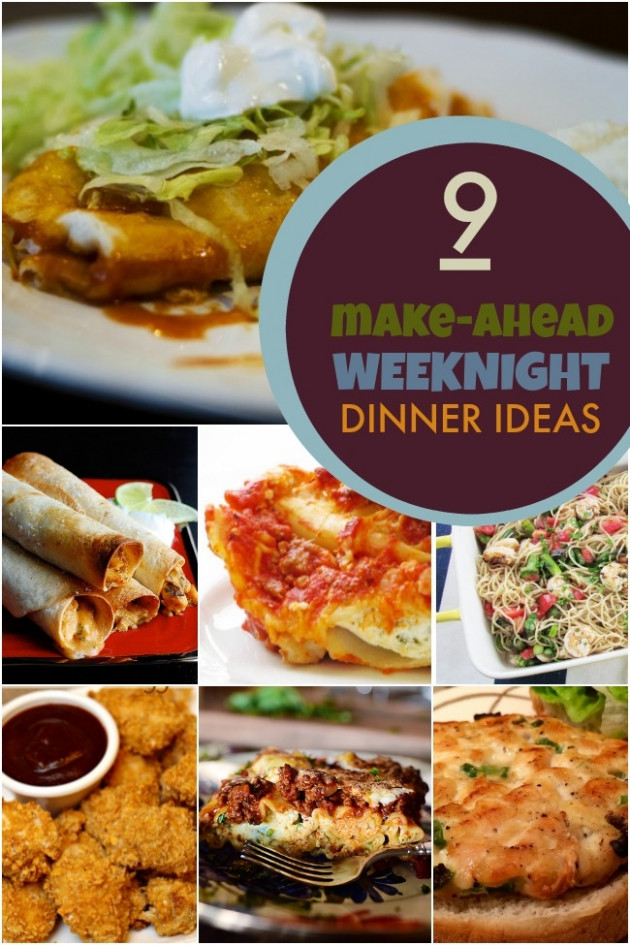 13 Make Ahead Breakfast Ideas to Save you Time ..