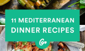 13 Mediterranean Inspired Dinners To Spice Up Your ..