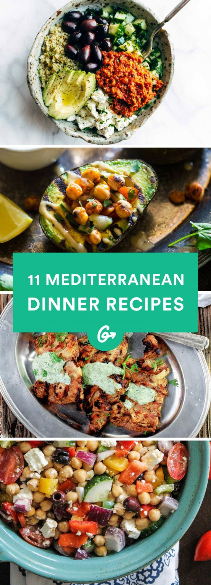 13 Mediterranean-Inspired Dinners to Spice Up Your ..