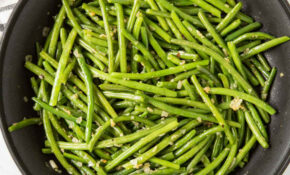 13 Min Quick And Easy Healthy Garlic Green Beans Recipe – Recipes Green Beans Healthy