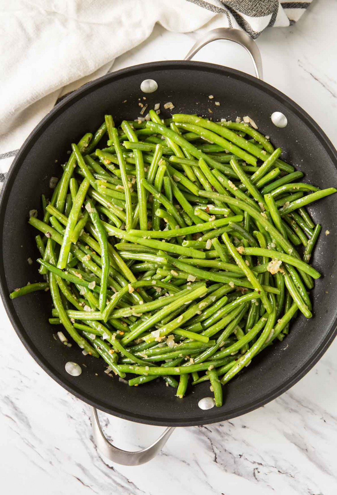 13-min Quick And Easy Healthy Garlic Green Beans Recipe - recipes green beans healthy