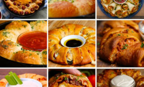 13 Mind Blowing Party Food Rings | Recipes – Easy Finger Food Recipes To Make Ahead