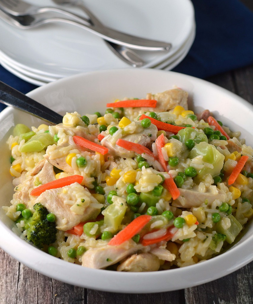 13-minute Chicken & Rice Dinner - recipes rice dinner