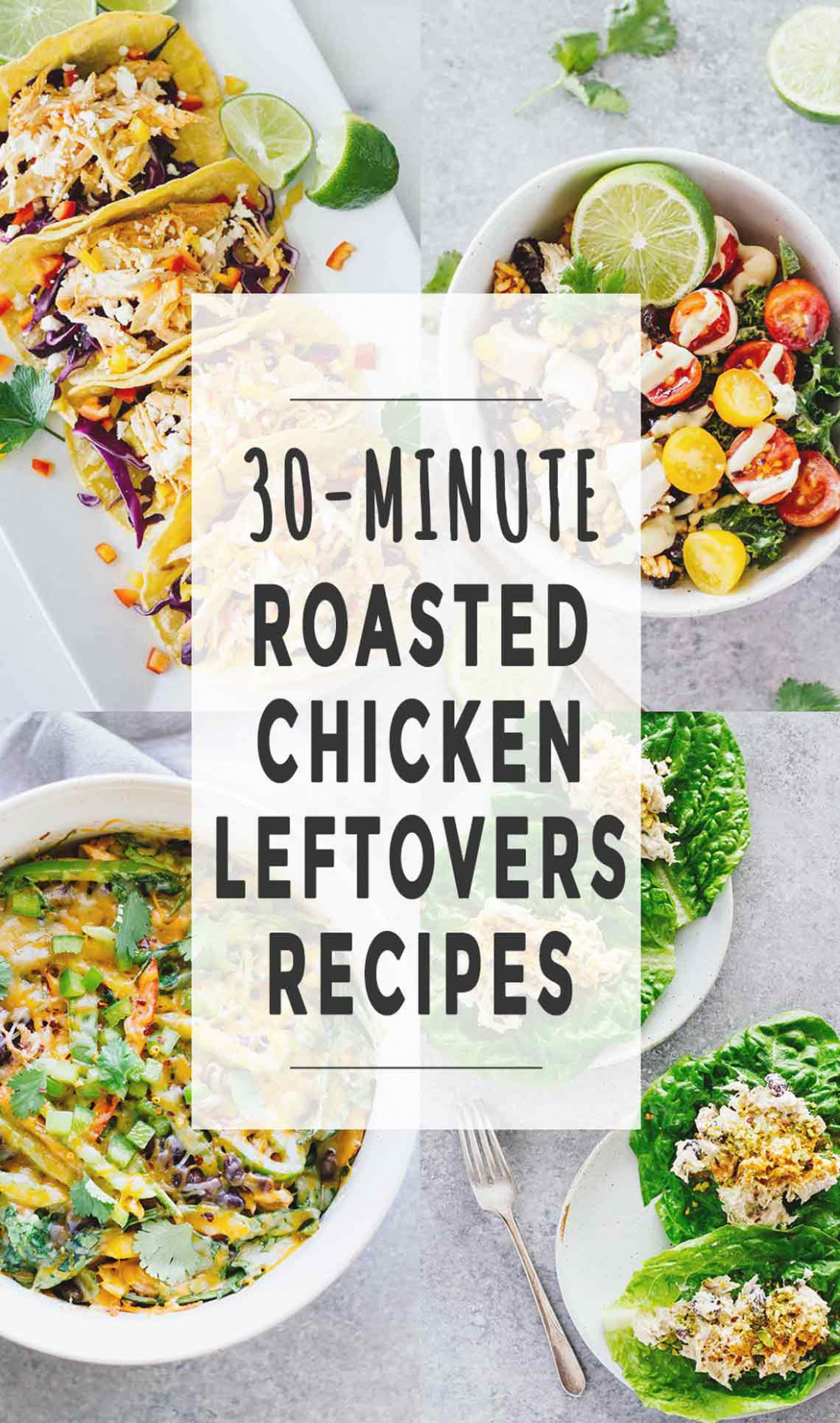 13-Minute Roasted Chicken Leftovers Recipes - Jar Of Lemons - recipes with leftover chicken