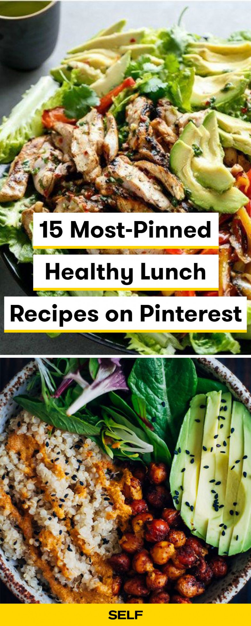 13 Most-Pinned Healthy Lunch Recipes on Pinterest | healthy ..