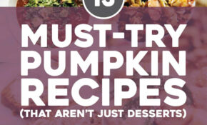 13 Must Try Pumpkin Recipes For Fall – Pinch Of Yum – Food Recipes To Try