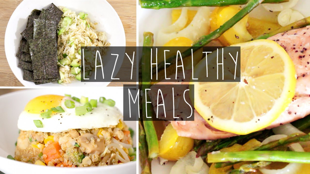 13 Quick & Easy Healthy Dinner Ideas FOR LAZY PEOPLE + Recipes | Eva Chung - recipes healthy dinner for two
