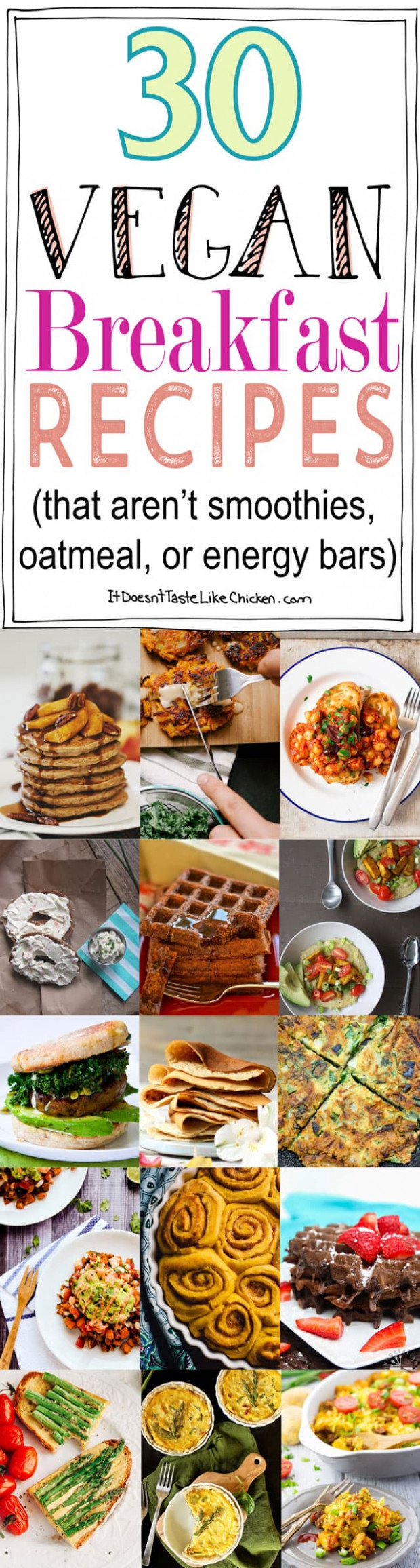 13 Vegan Breakfast Recipes (that Aren't Smoothies, Oatmeal ..