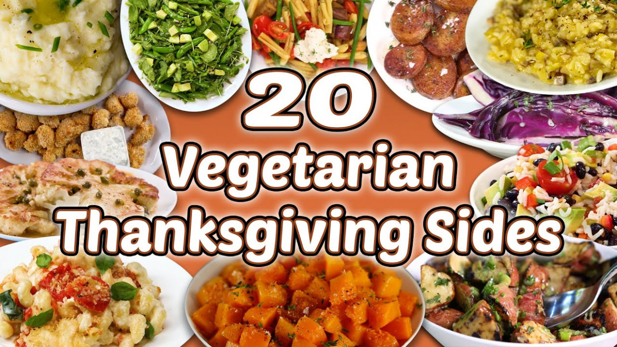 13 Vegetarian Thanksgiving Sides | Holiday Vegetable Side Dish Recipe  Compilation | Well Done - Recipes Vegetarian Thanksgiving