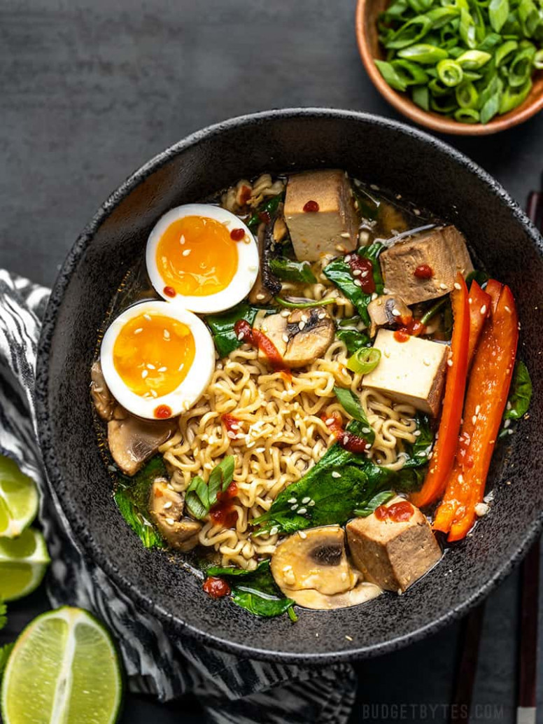 13 Ways to Upgrade Instant Ramen - Make it a Meal! - Budget Bytes - egg noodle recipes vegetarian