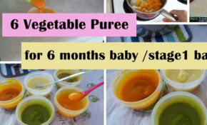 133 Vegetable Purees For 133+ Months Baby | Stage13 Homemade Baby ..