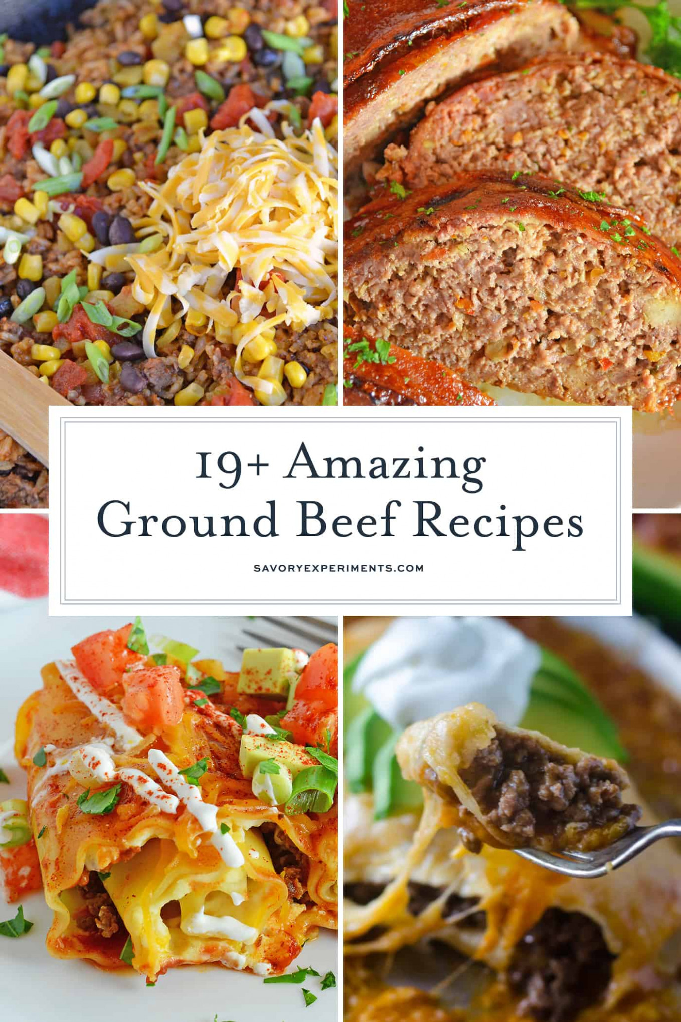14 Amazing Ground Beef Recipes - Best Ground Beef Recipes - dinner recipes hamburger