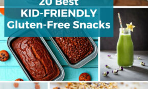 14 Best Kid Friendly Gluten Free Snacks – Recipes Kid Friendly Healthy