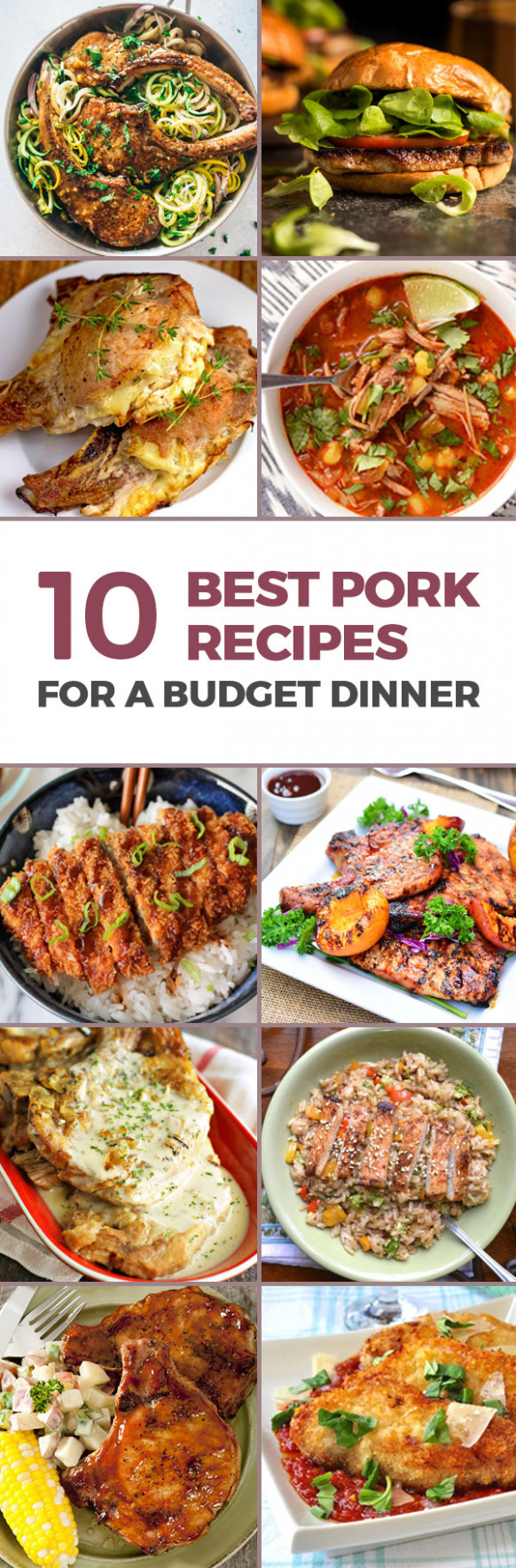 14 Best Pork Chop Recipes For A Budget Dinner - dinner recipes on a budget