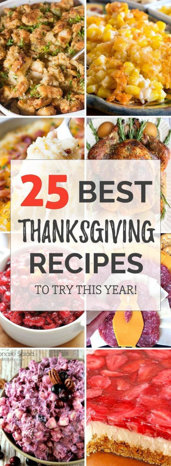 14 Best Thanksgiving Recipes - Dinner Parties for Your ..