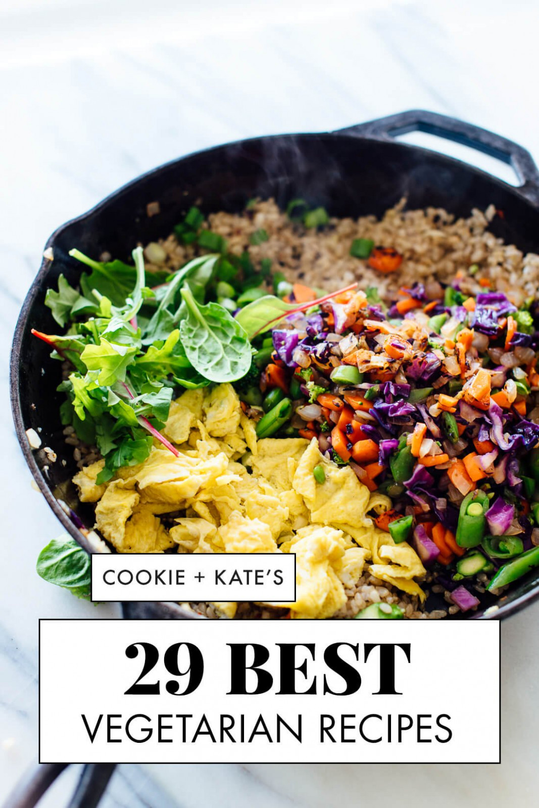 14 Best Vegetarian Recipes - Cookie and Kate - recipes that can be vegetarian or meat