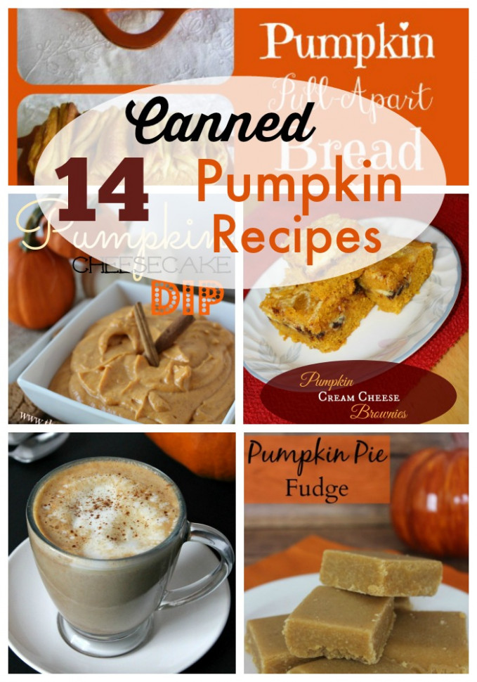 14 Canned Pumpkin Recipes - recipes with canned food
