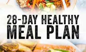 14 Day Healthy Meal Plan – A Couple Cooks – Recipes For Dinner Healthy