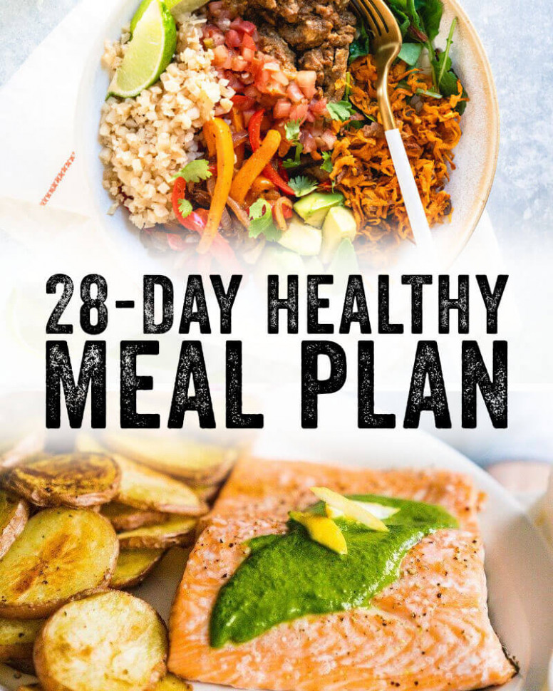 14 Day Healthy Meal Plan – A Couple Cooks - Recipes For Dinner Healthy