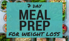 14 Day Meal Plan For Weight Loss – Healthy Recipes For One