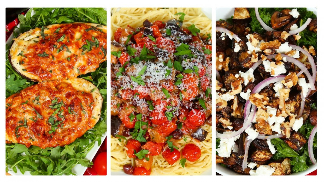 14 Delicious Eggplant Recipes | Dinner Made Easy - delicious vegetarian recipes dinner