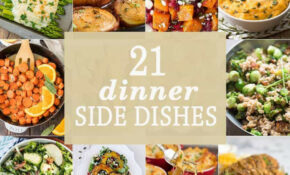 14 Dinner Side Dishes – The Cookie Rookie® – Recipes Christmas Dinner Side Dish