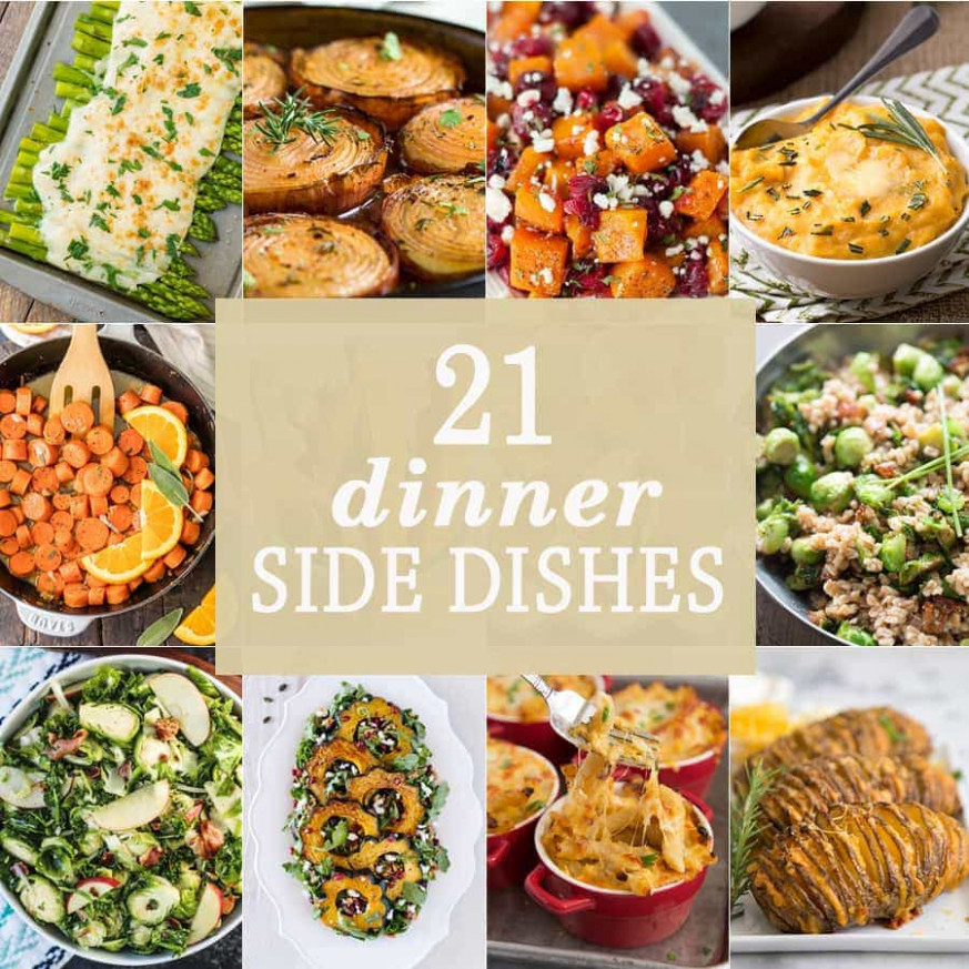 14 Dinner Side Dishes - The Cookie Rookie® - recipes christmas dinner side dish