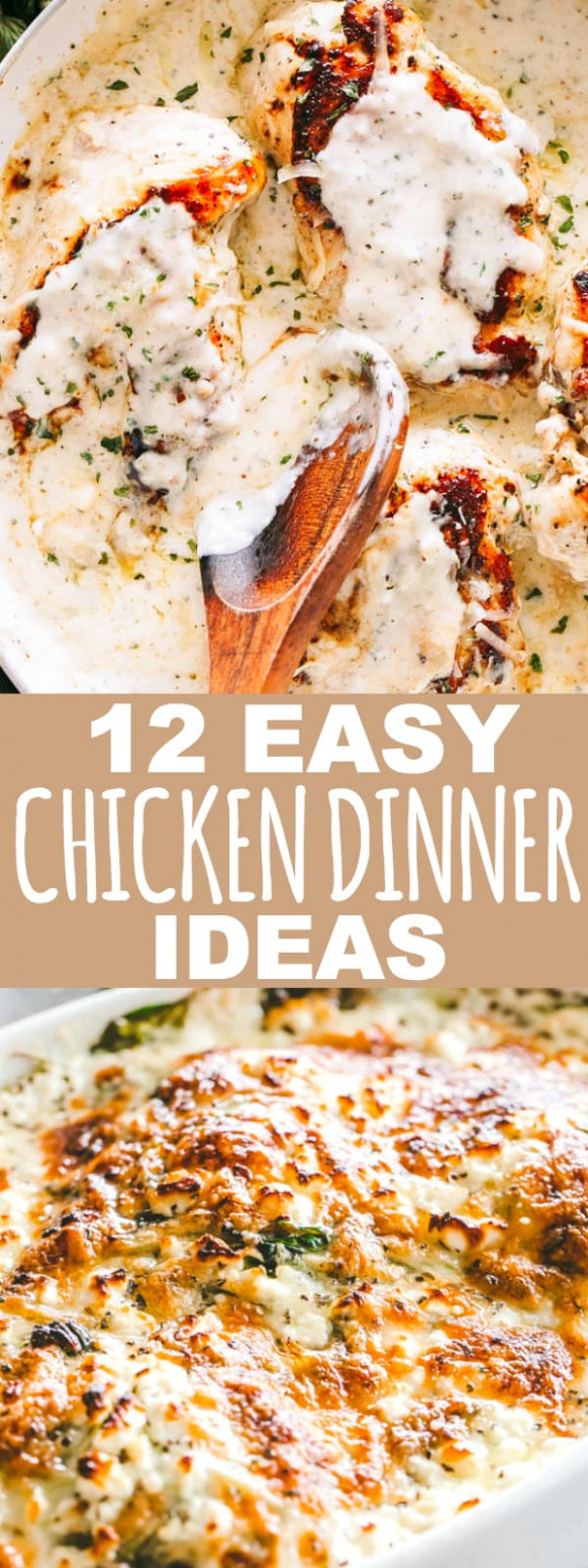 14 Easy Chicken Dinner Ideas Your Family Will Love | Diethood - Recipes Dinner Family