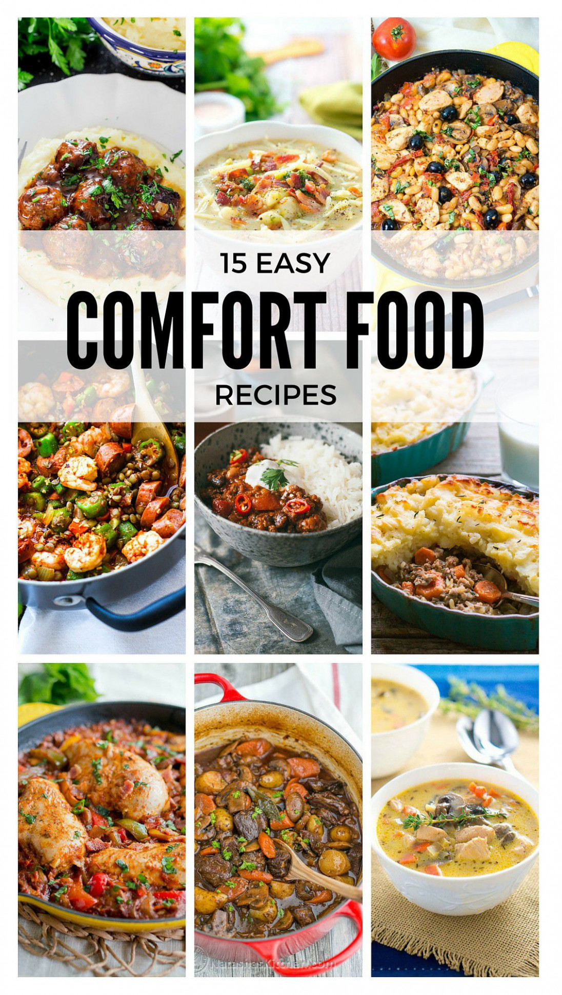 14 Easy Comfort Food Recipes | Delicious Meets Healthy - easy comfort food recipes