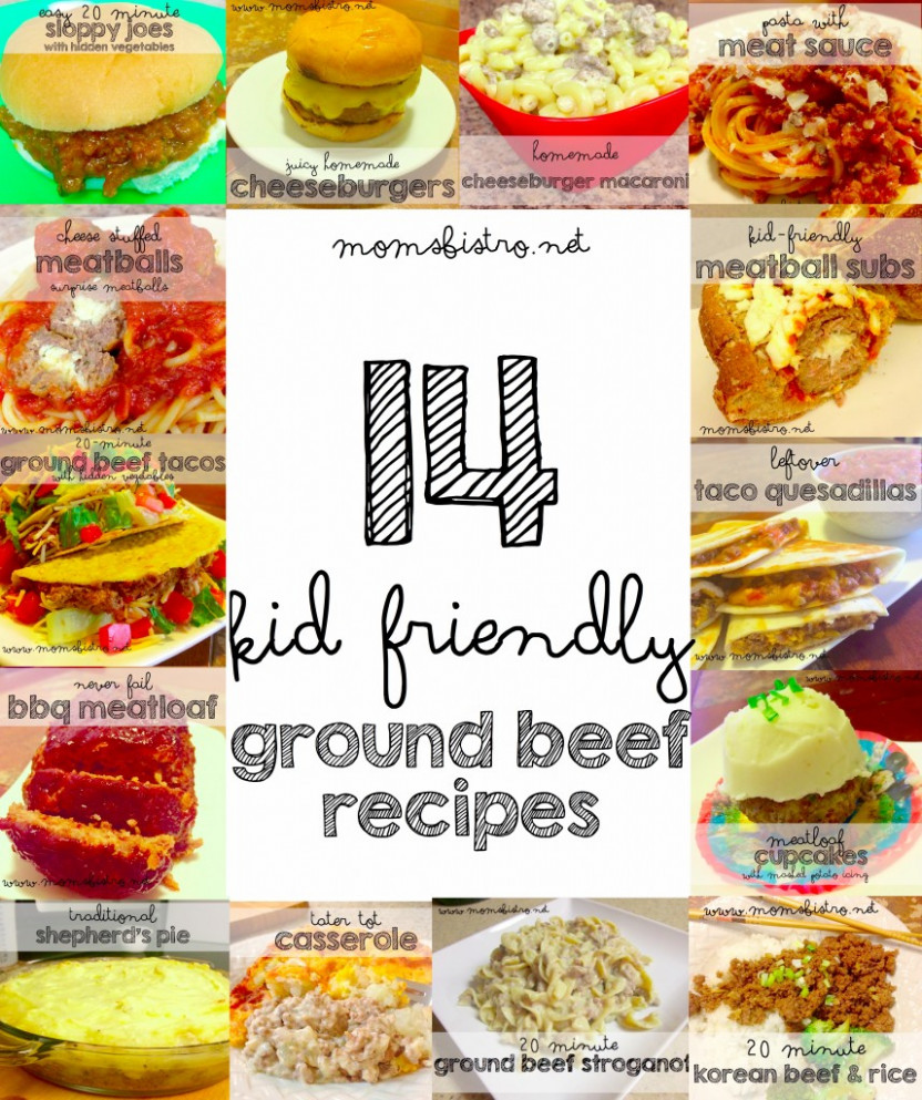 14 Easy Kid Friendly Ground Beef Recipes To Try For Dinner ..