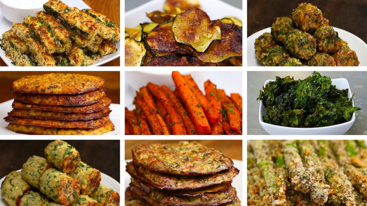 14 Easy Low-Carb Veggie Snacks - no carb recipes vegetarian