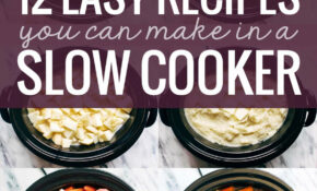 14 Easy Recipes You Can Make In A Slow Cooker – Pinch Of Yum – Recipes Dinner Crock Pot